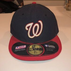 Washington nationals fitted baseball cap